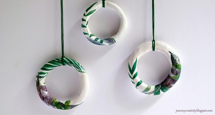 DIY| Clay Napkin Pendant | Κόσμημα από πηλό με decoupage!