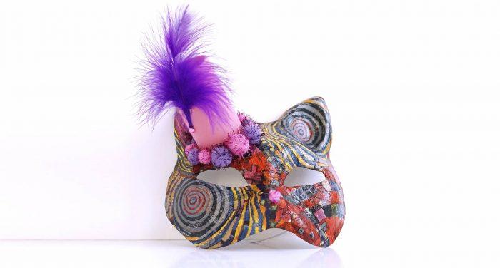 Cat Mask DIY | Φτιάχνουμε μόνοι μας μία ιδιαίτερη Γυναικεία Μάσκα Γάτας!