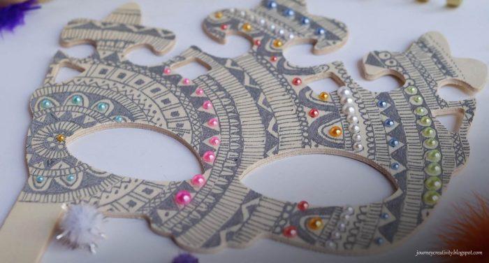DIY Mandala Mask | Μία Ντελικάτη – φινετσάτη μάσκα!