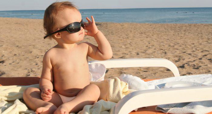 Οι πρώτες διακοπές με το μωρό
